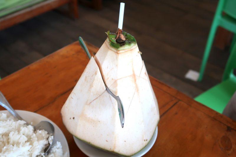 Lantaw(ランタウ)のココナッツ