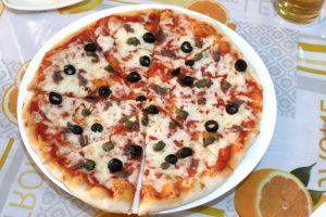 SAN MARCO VENICEのピザ