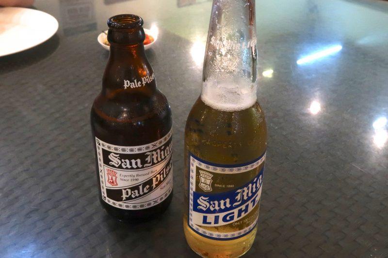 AA BBQのビール