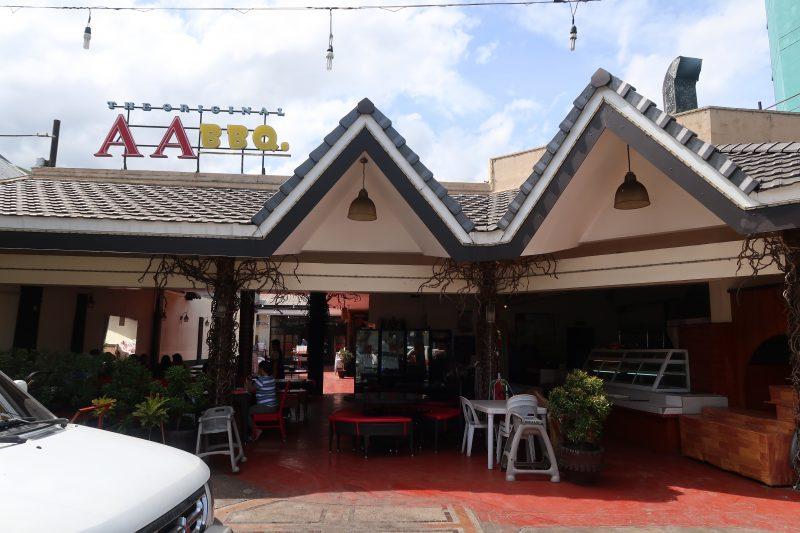 セブ島のAA BBQサリナス店