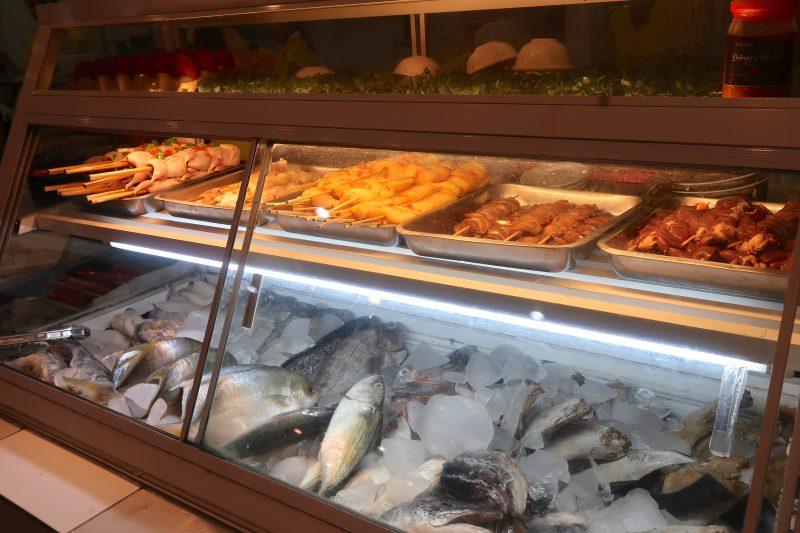 セブ島のAA BBQのレジ