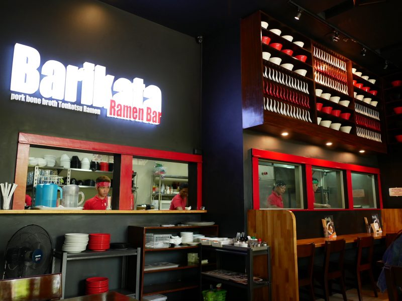 Barikata(バリカタ)の店内