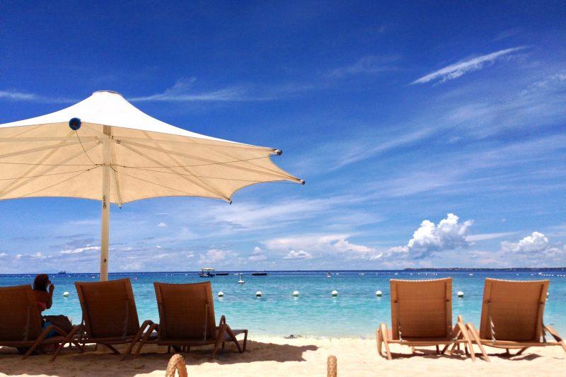 シャングリラ・リゾート・マクタンのビーチ