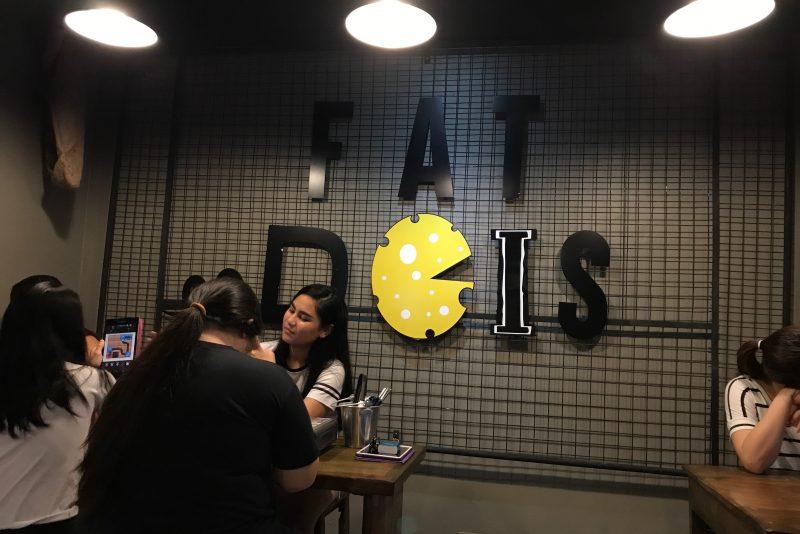Fat Doisの店内