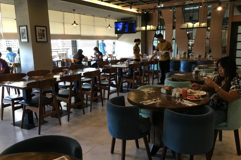 セブ島ビックホテルのレストラン