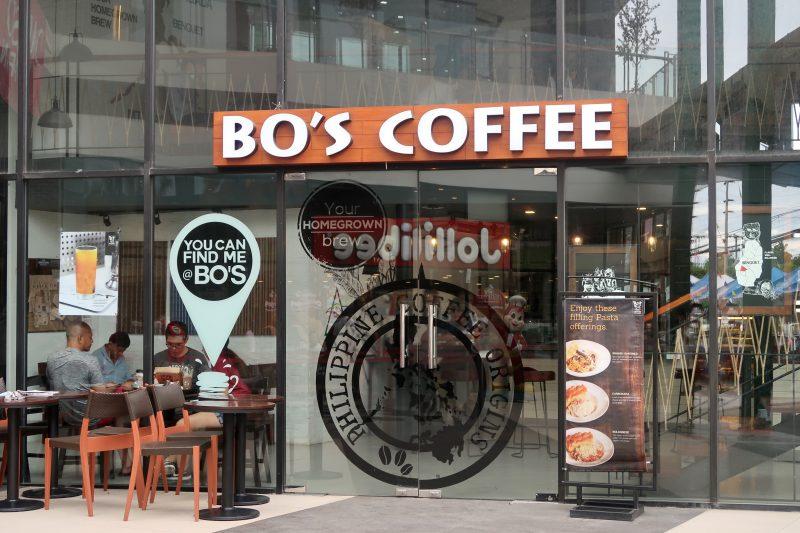 アイランド・セントラル・マクタンのBO'S COFFEE