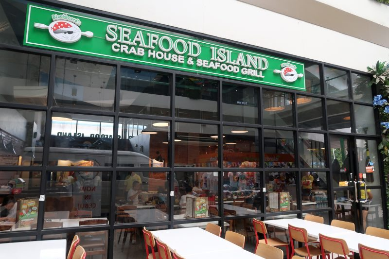 アイランド・セントラル・マクタンのSEAFOOD ISLAND