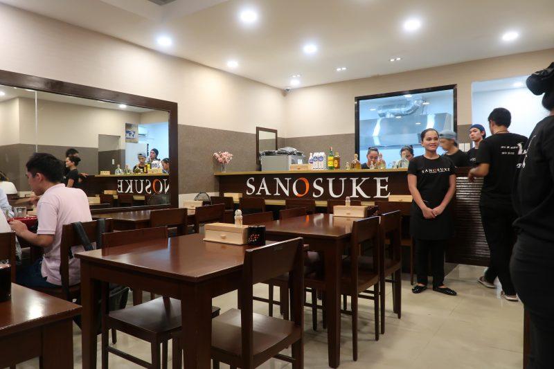 SANOSUKEの店内