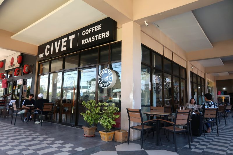 マクタン島のCivet Coffeeの外観