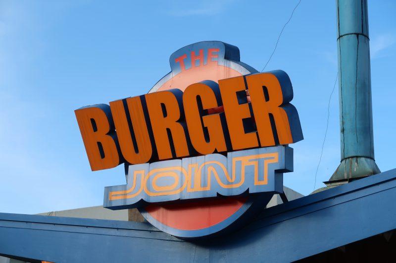 【THE BURGER JOINT】セブシティの有名ハンバーガーショップ
