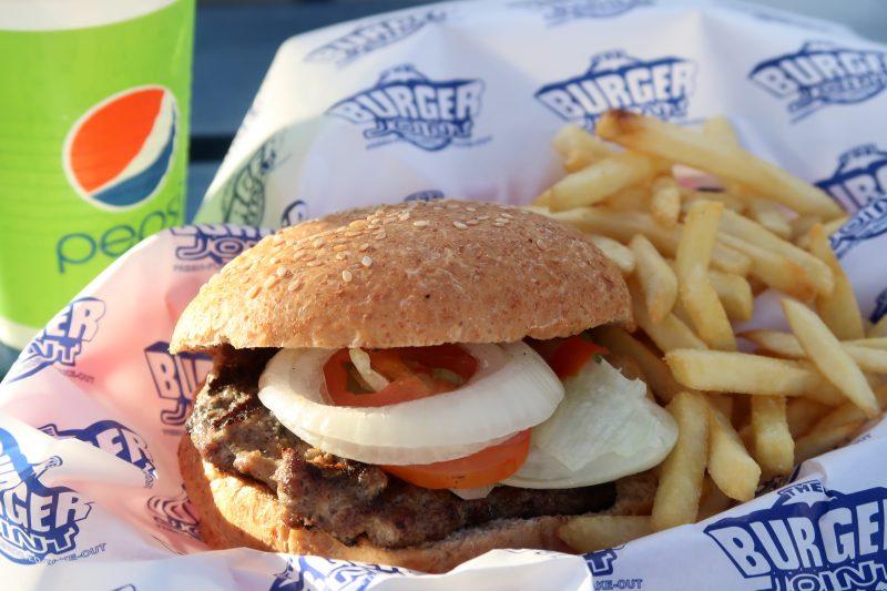 THE BURGER JOINTのハンバーガー