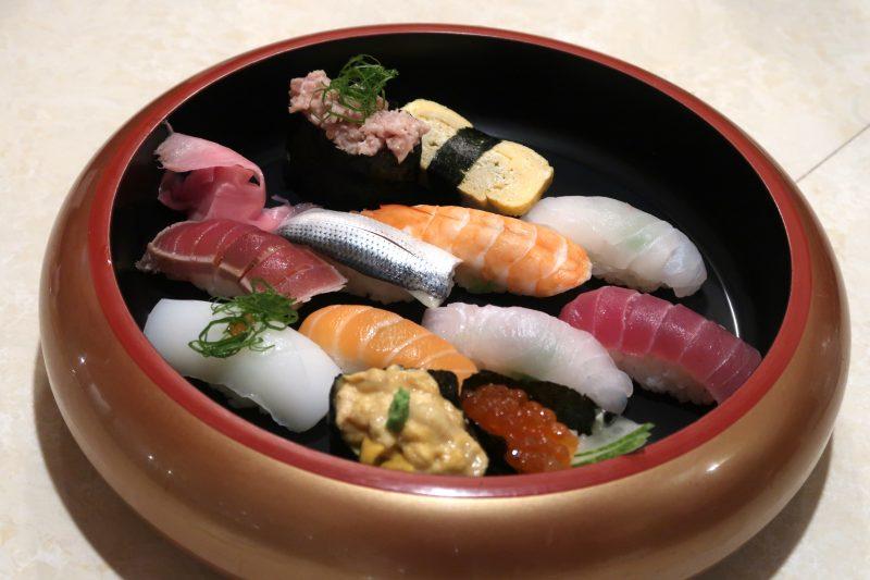 松之家の寿司