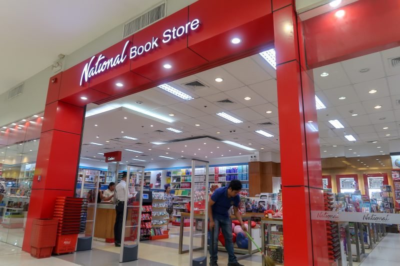 パークモール(Parkmall)のNational Book store