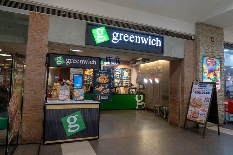 SMシティセブのGreenwich