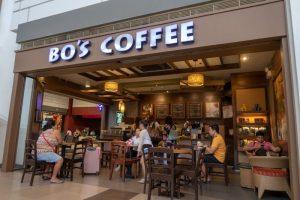 SMシティのBO'S COFFEE