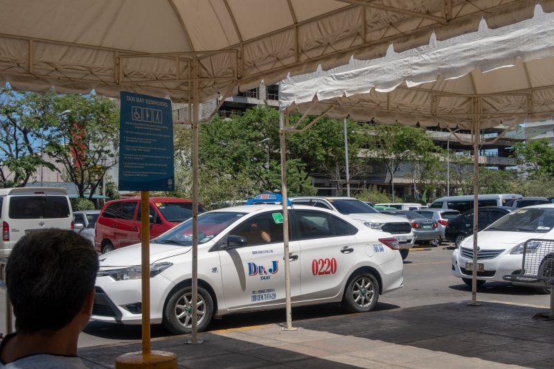 SMシティセブのタクシー