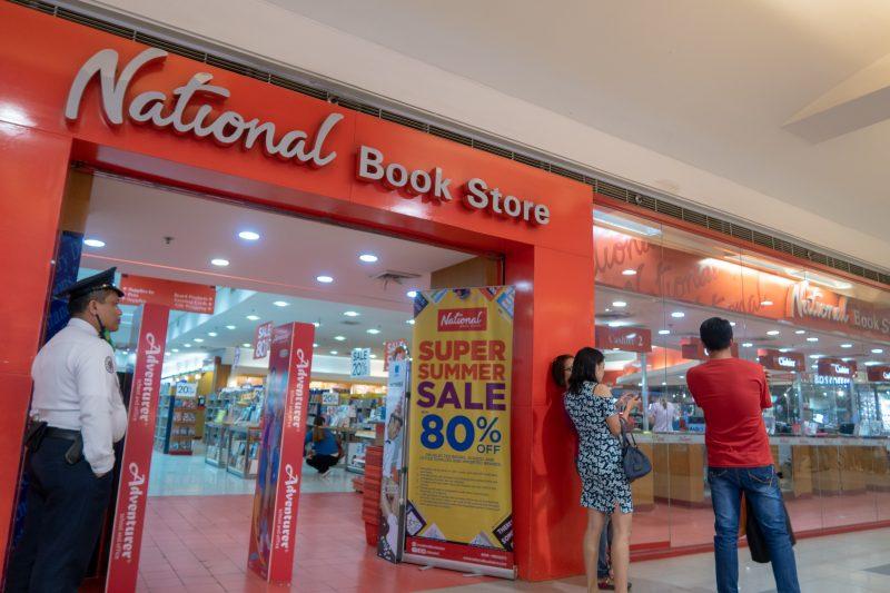 SMシティのNational Book Store