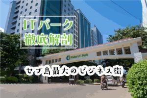 【セブ島ITパーク完全ガイド】新アヤラモールから屋台村まで