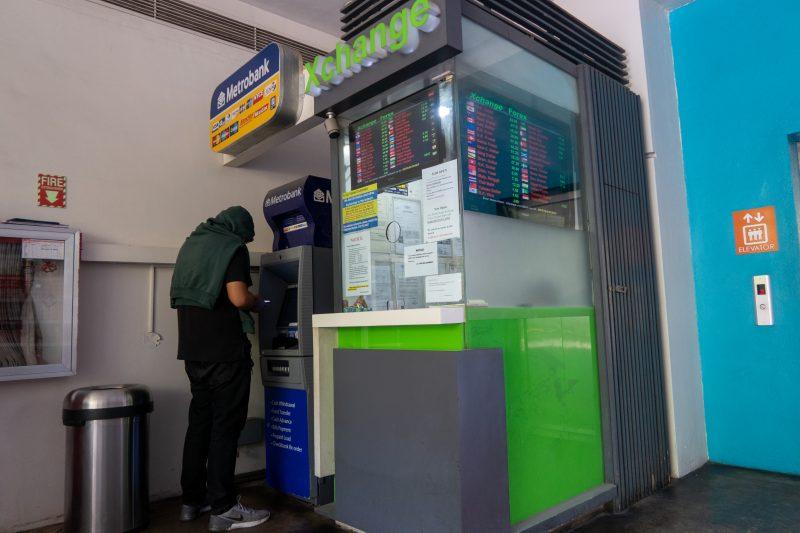セブ島ITパークの両替所