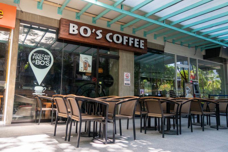 セブ島ITパークのBOS COFFEE