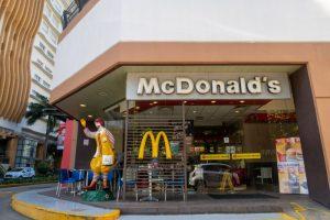 セブ島ITパークのマクドナルド