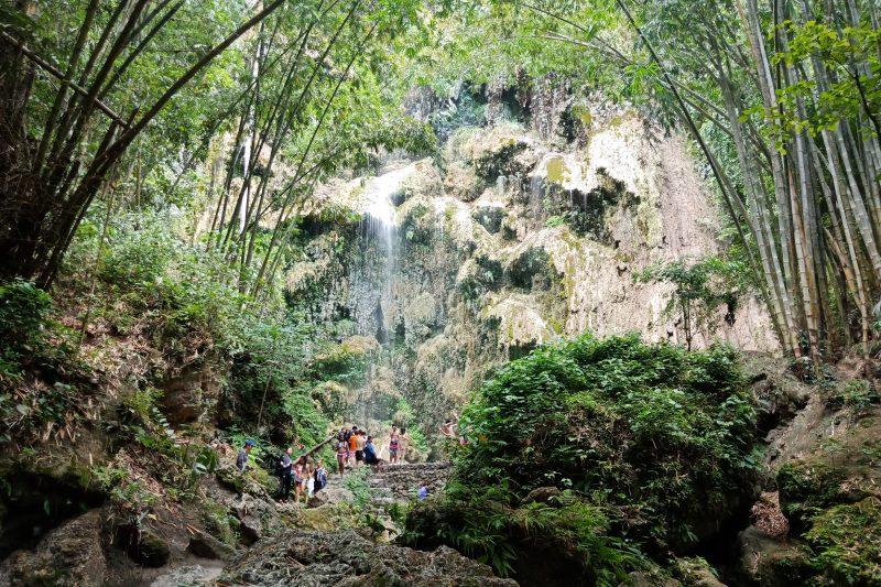 オスロブの滝