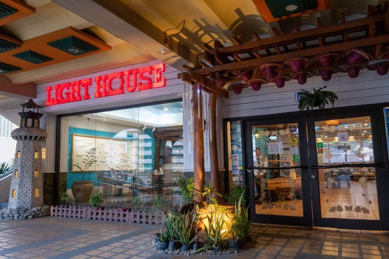 セブ島カントリーモールのLIGHT HOUSE