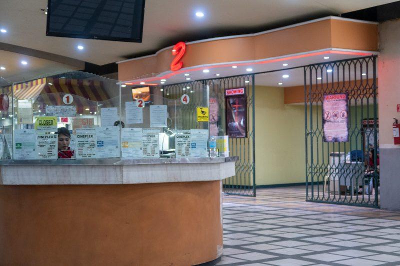 セブ島カントリーモールの映画館