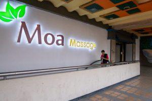 セブ島カントリーモールのMoa Massage