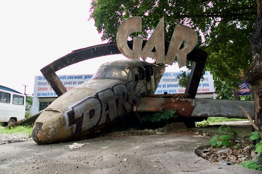 ITパークの飛行機