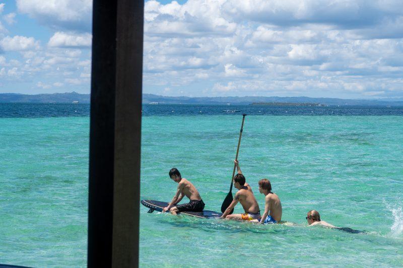 ヒルトゥガン島のボード