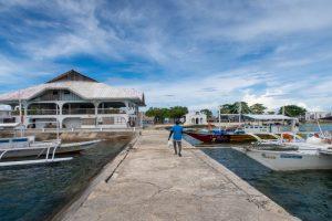 パンダノン島の埠頭