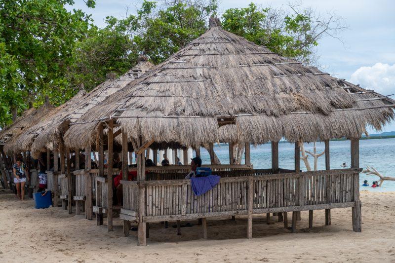 パンダノン島のコテージ