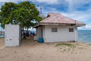 パンダノン島のトイレ