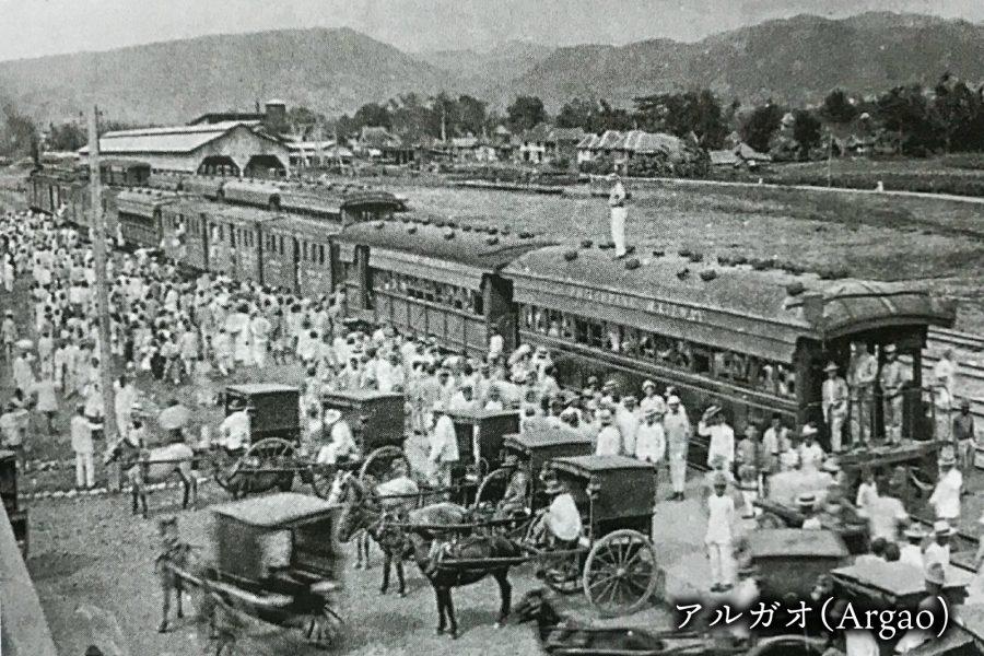 セブ島の鉄道 アルガオ