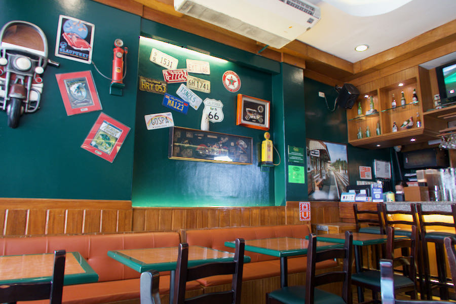 Casa Verdeの店内