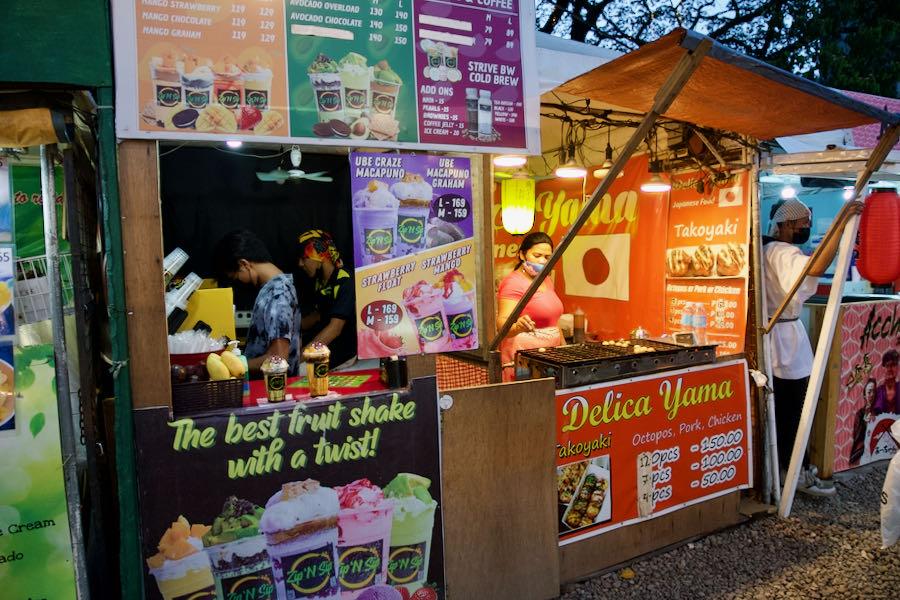 Sugbo Mercadoの日本料理店